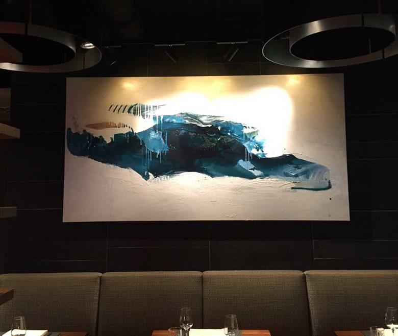 Kunst am Bau Restaurant Fortino Wels